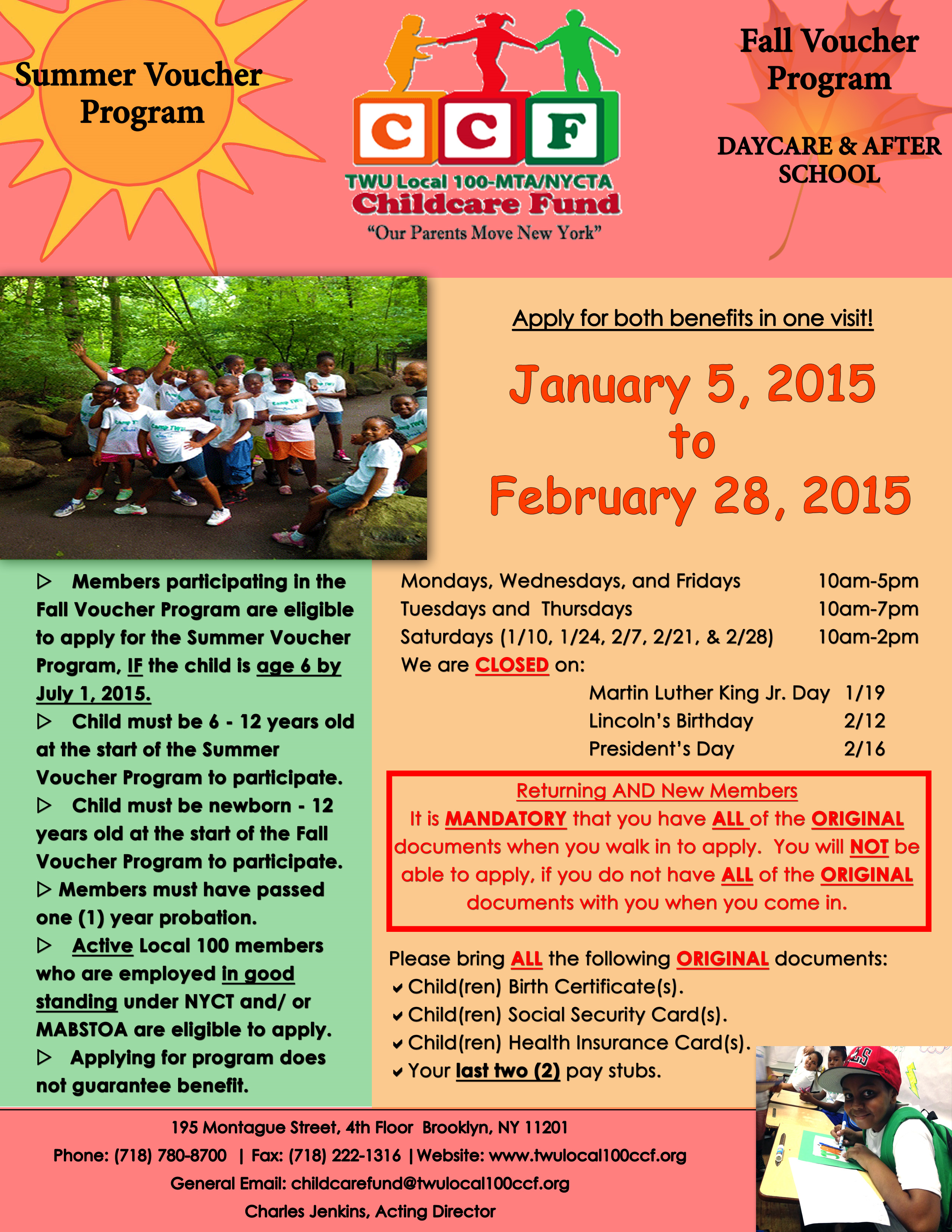 2015 Registration Flyer